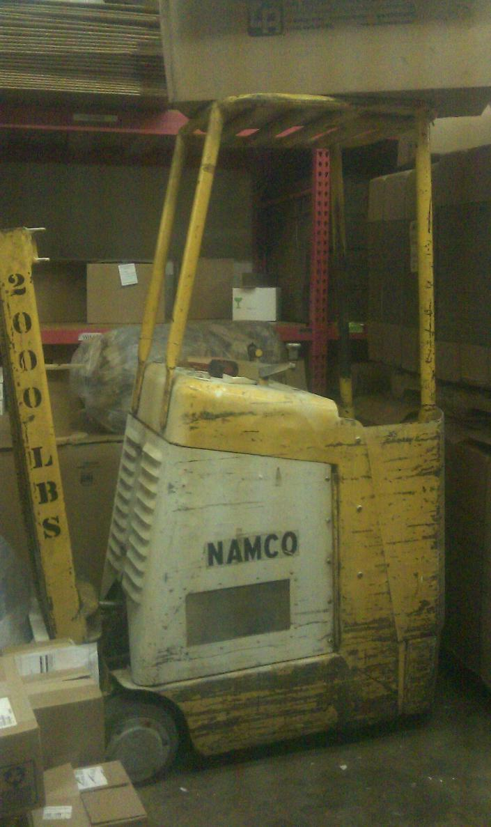 I need a Namco LC-2024E repair manual | Forklifts