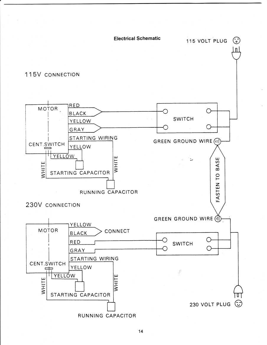 Diagram  Chicago 7 Polisher Wire Diagram Full Version Hd