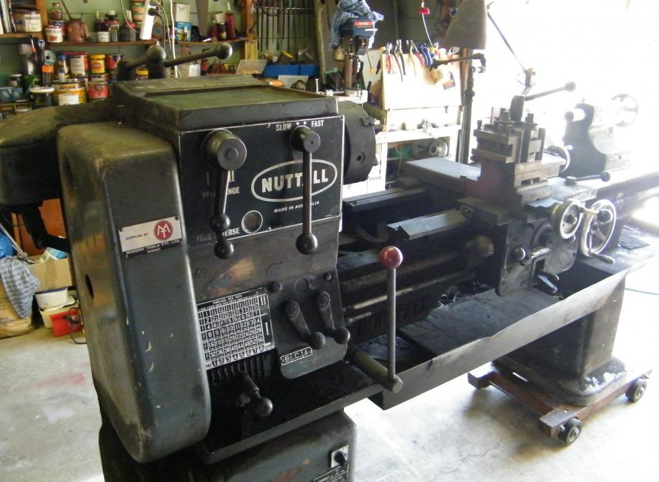 have just purchased on old Nuttall, 1964 model, geared head 15.75 ...
