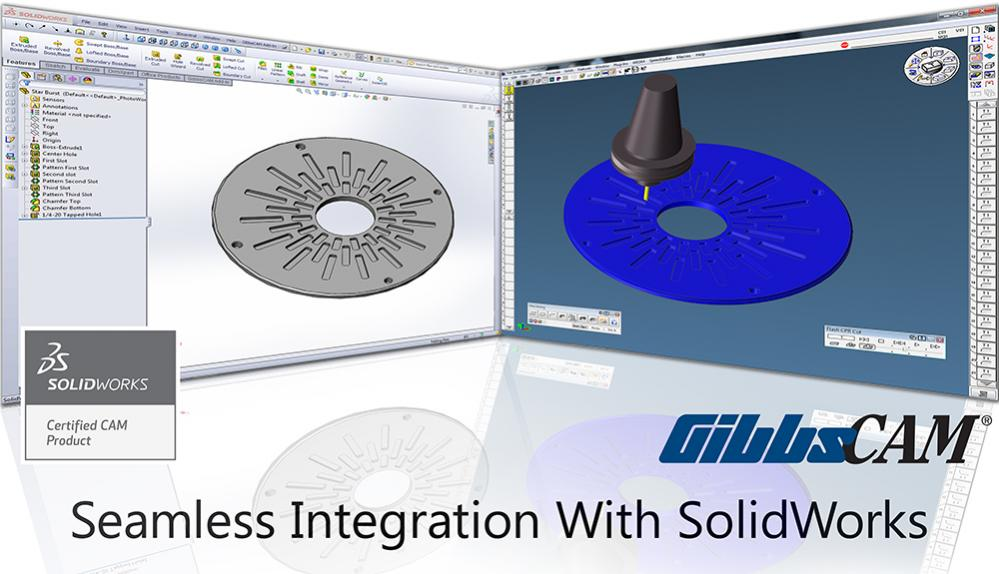 GibbsCAM's New Capabilities to be Presented at SolidWorks
