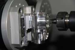 Small Engine Precision Fuels Fifth-Axis Production Workholding Concept