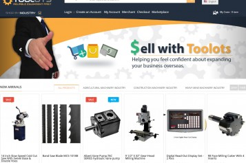 Toolots Launches e-Commerce Site for Factory-Direct  Industrial Tools, Machinery and Technology