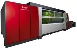 Mitsubishi's Newest Fiber Lasers and 135 Ton BH Hybrid Press Brake with Videre Highlighted in MC Machinery Systems' FABTECH Booth #C39033