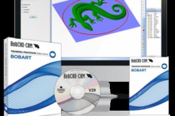 BobCAD-CAM Releases NEW V29 BobART Training Professor Video Series