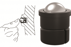 Self-Retaining Ball Plungers Eliminate a Machining Step