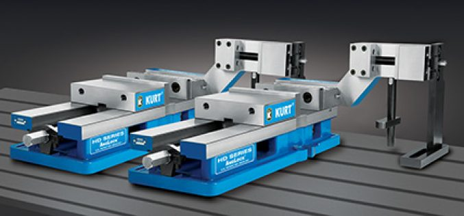 Kurt® SideWinder™ Vises Enhance Production Machining And Secondary Operations For Part Ends And Final Workpiece Cutoff