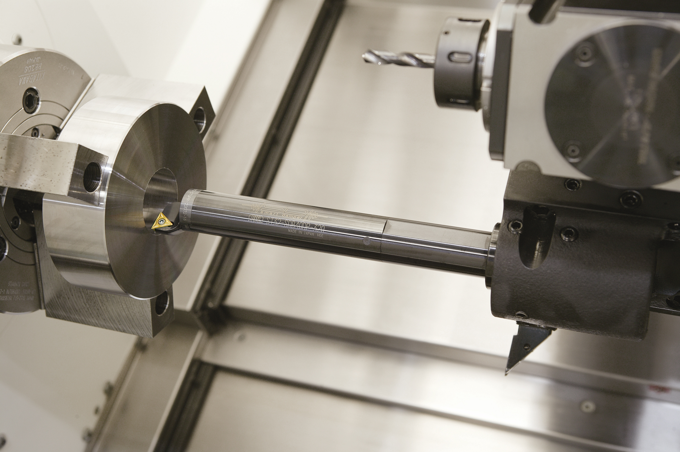 Large Boring Bars : Big kaiser to showcase milling and turning solutions at