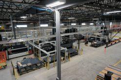 Amerequip Installs Massive Laser System