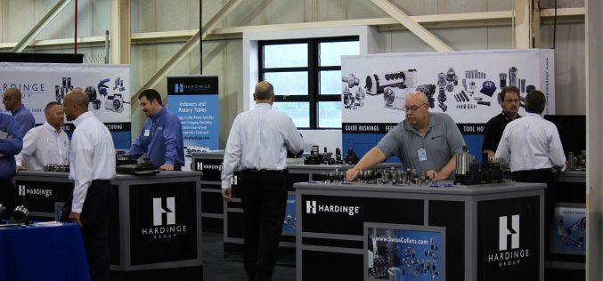 THE HARDINGE MACHINE TECHNOLOGY SHOW WILL TAKE PLACE JUNE 6-8 AT HARDINGE INC. HEADQUARTERS IN ELMIRA, NY.