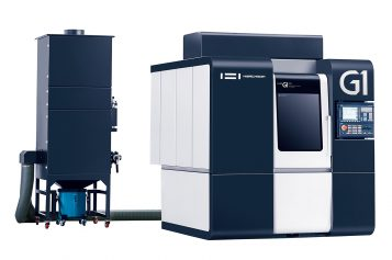 HWACHEON INTRODUCES HIGH SPEED, HIGH PRECISION Hi-M G1 VERTICAL MACHINING CENTER FOR GRAPHITE