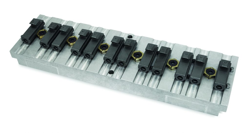 MiniLock™ Fixture Clamps For High Density Part Setups Are Low