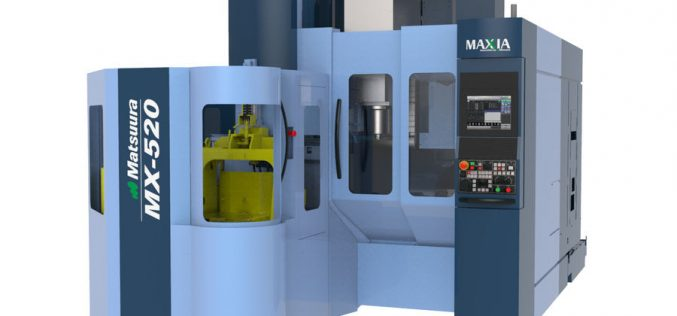 MATSUURA MACHINERY USA, INC. ANNOUNCES THE LAUNCH OF THE MX-520 PC4 5-AXIS VERTICAL MACHINING CENTER