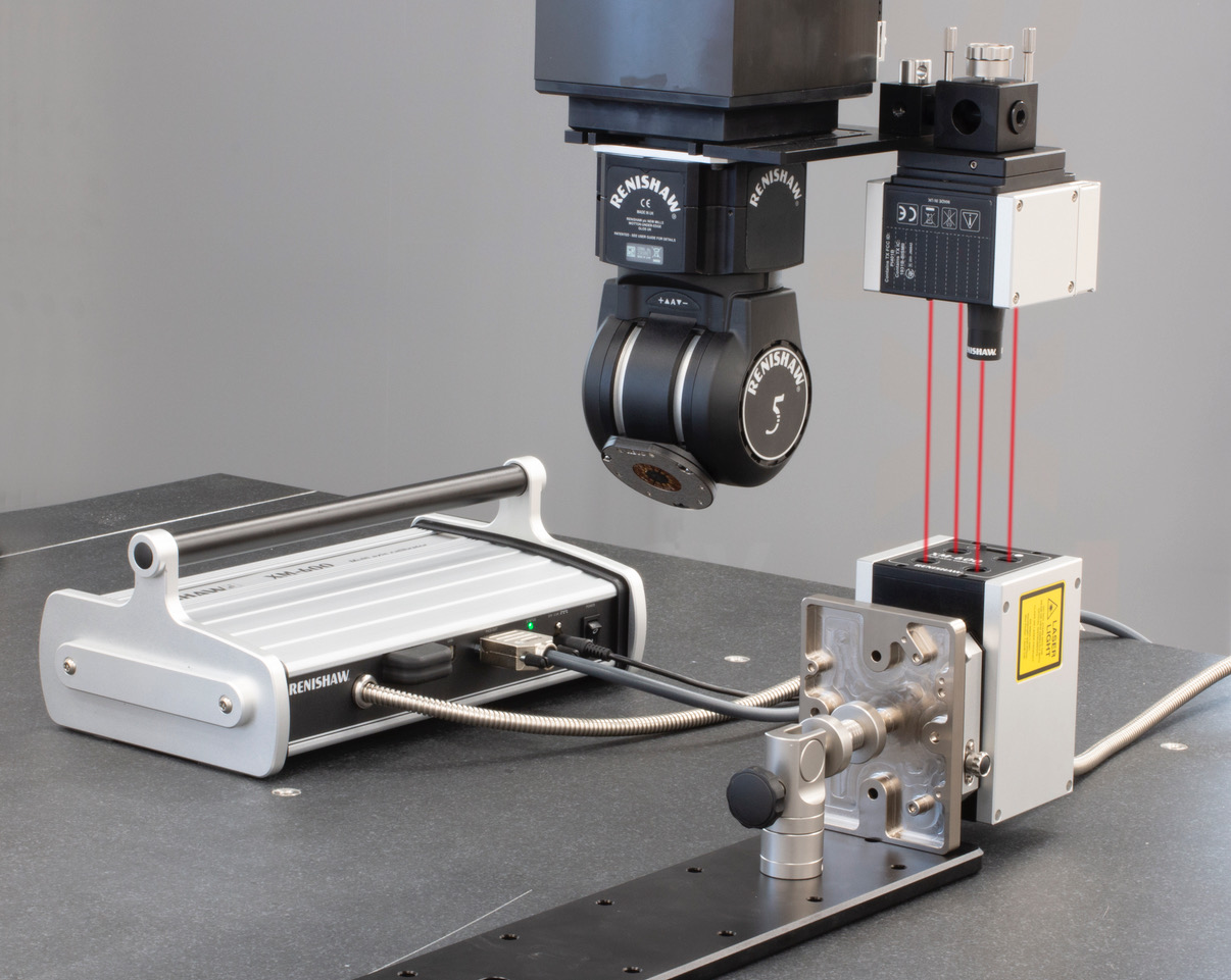Renishaw to Feature XM-600 Laser Measurement System at IMTS 2018