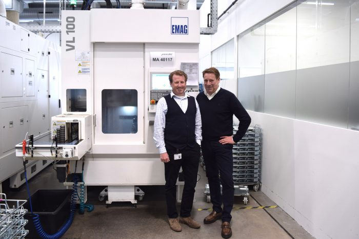Transmission manufacturing at Pankl in Austria