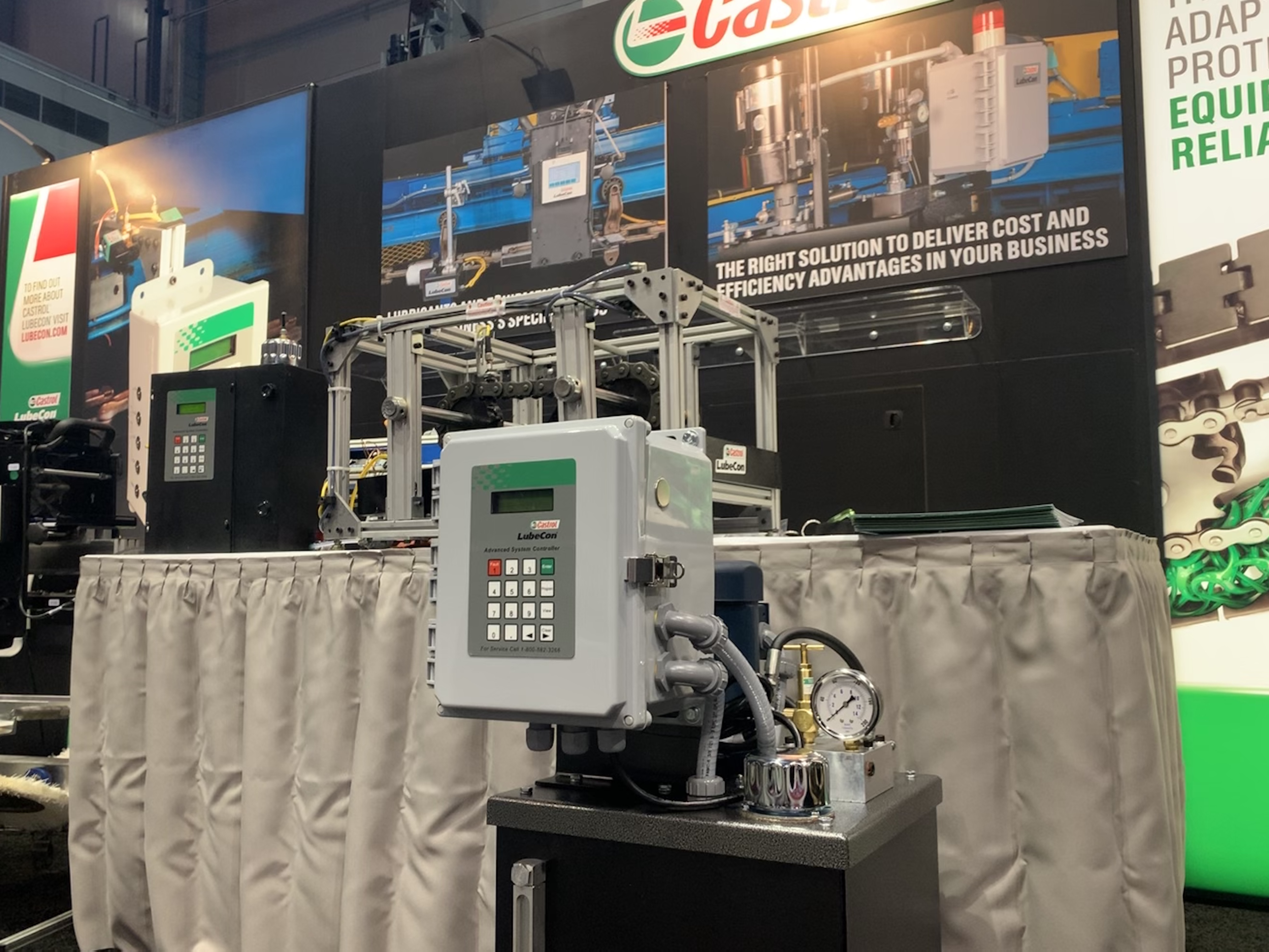Castrol Talks About Industrial Chain Wear Monitoring At